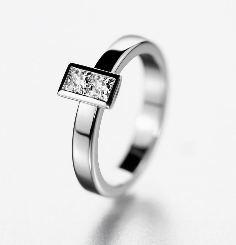 modern wedding ring | wedding