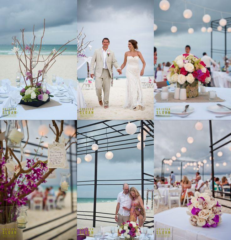 Playa Del Carmen Mexico Beach Wedding At Playacar Palace