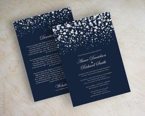 Invitation Simple Affordable Wedding Invitations 2490294 Weddbook