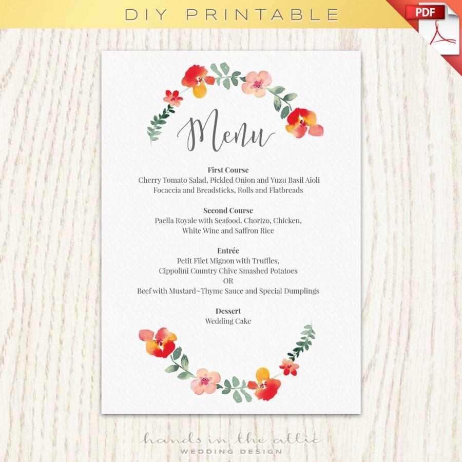 Fl Wedding Wreath Sign Printables Day