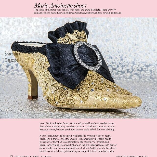 Marie Antoinette Wedding Shoes Gold And Black Low Heel Personalized Design Free Shipping Within The Usa