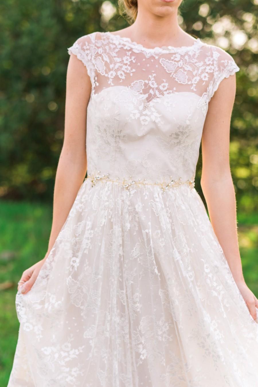 Gold Beaded Belt Bridal Sash Woodland Bohemian Bridesmaid Wedding 40