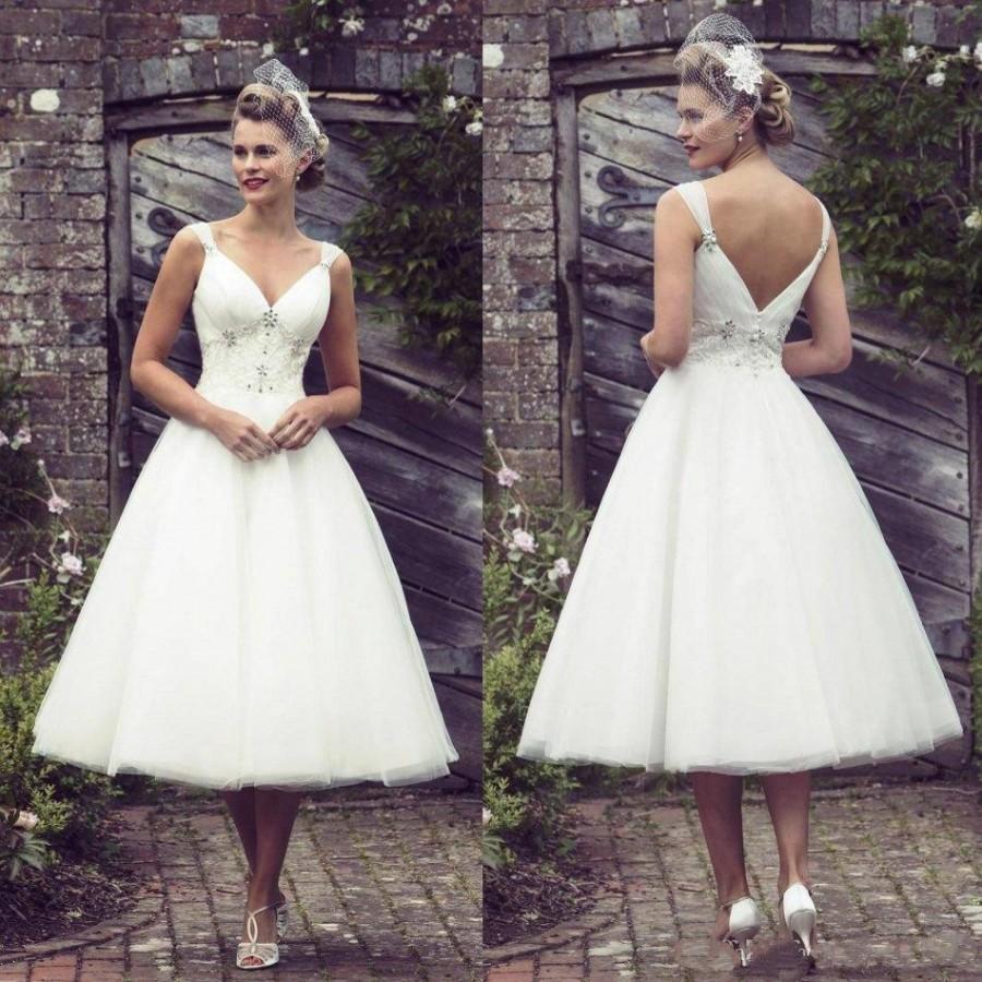 short spring wedding dresses | Wedding
