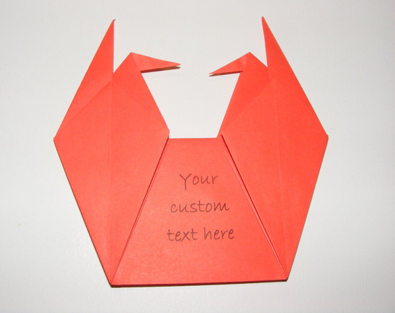Origami Envelope For Wedding Invitation Baby Showers Set Of 100 Crane