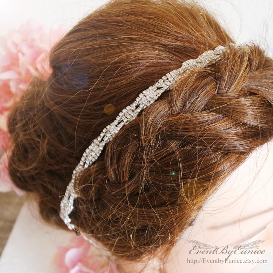 bridal headpiece, wedding headpiece, bridal headband, wedding
