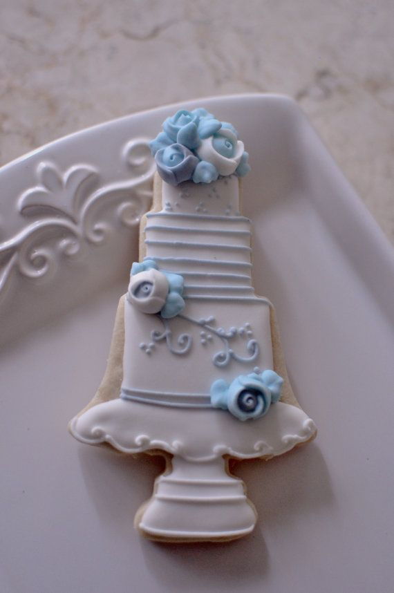 wedding cake cookie favors 1 dozen wedding cake cookie favor style 3 wedding favors 22237
