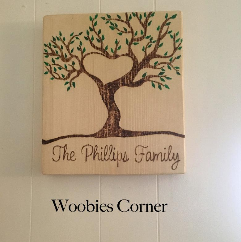 Finest Personalized Wood Sign, Wood Burned, Personalized Name Sign  VZ23