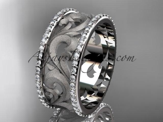 Spring Collection Unique Diamond Engagement Rings Sets Birthstone Platinum Leaf And Vine Wedding Ring