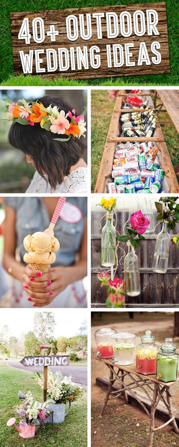40 Breathtaking Diy Vintage Ideas For An Outdoor Wedding Cute Projects