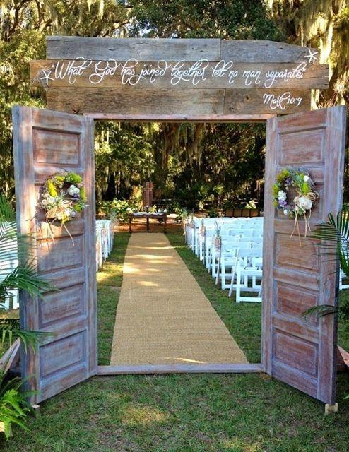 Zeremonie - Perfect Rustic Country Wedding Ideas #2514717 ...