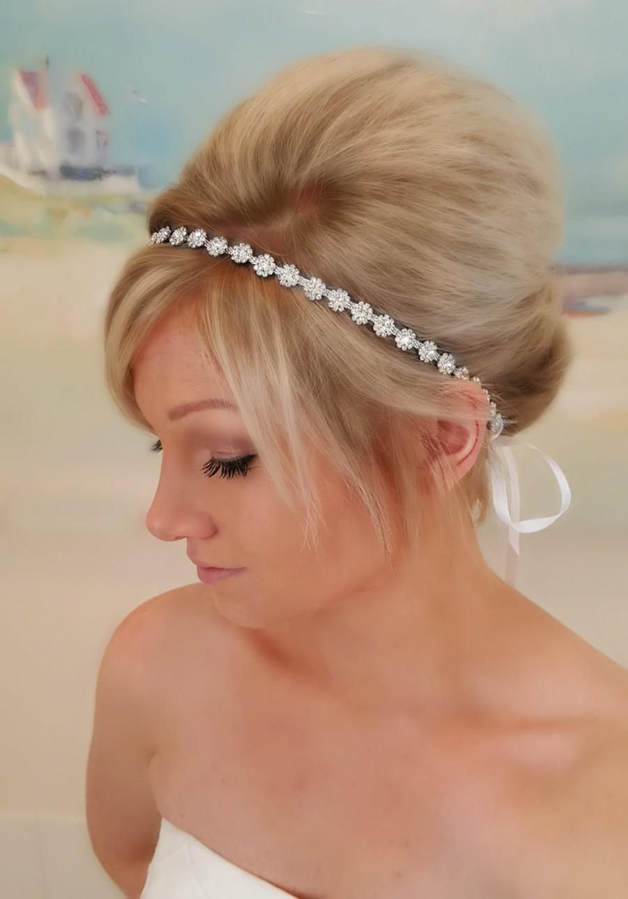 bridal headband, bridal hair piece, parker, accessories, bridal