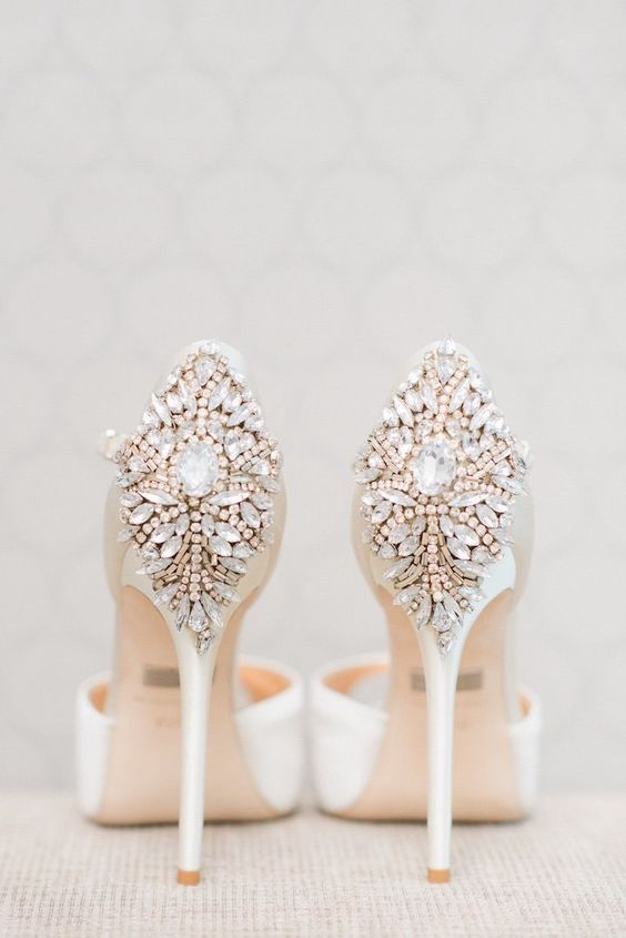 100 Pretty Wedding Shoes From Pinterest
