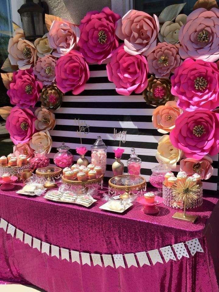 Kate Spade Bridal Wedding Shower Party Ideas