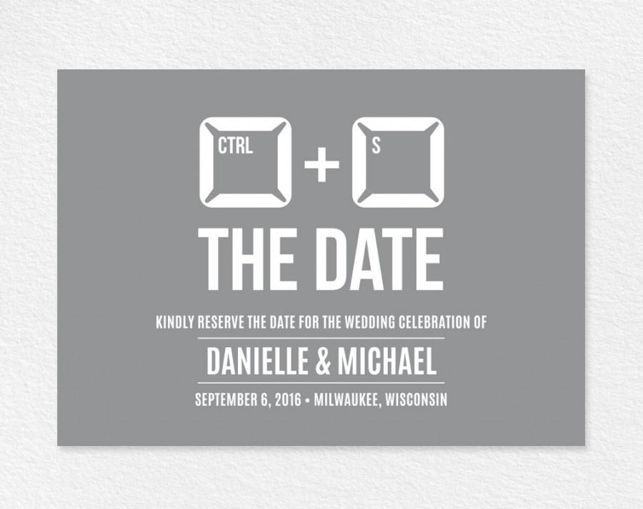 Funny Save The Date Printable Unique Template Wedding Pdf Instant