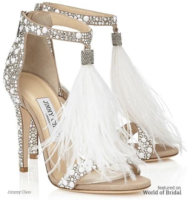 Jimmy Choo 2016 Bridal Shoes Collection