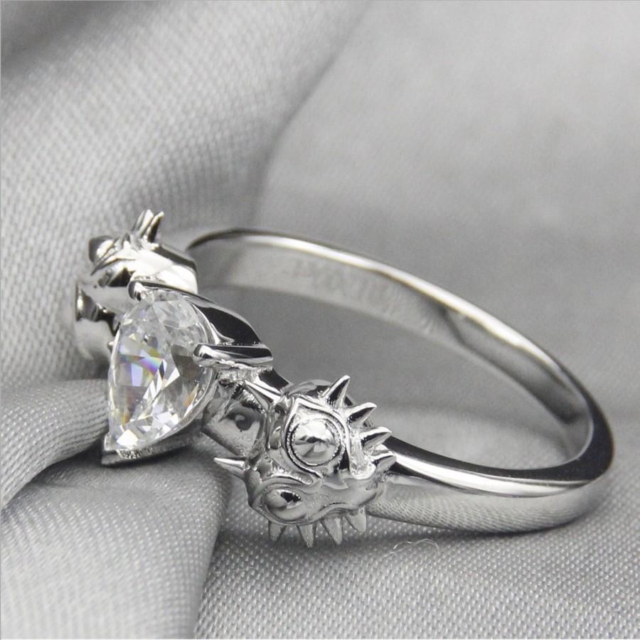 Majoras Mask Moons Tear Legend Of Zelda Engagement Promise Wedding Ring Nintendo Link Navi 8 Bit R Ocarina Time Ru Video Geek