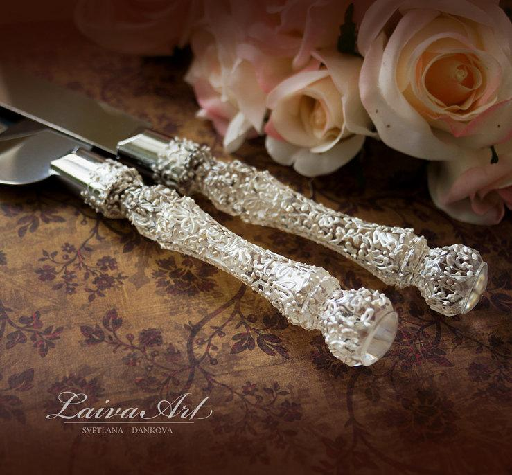 Wedding Cake Server Set Knife Cutting Servers Cutter Decoration