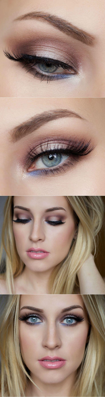Makeup - Makeup Tips For Blue Eyes And Fair Skin #12 - Weddbook
