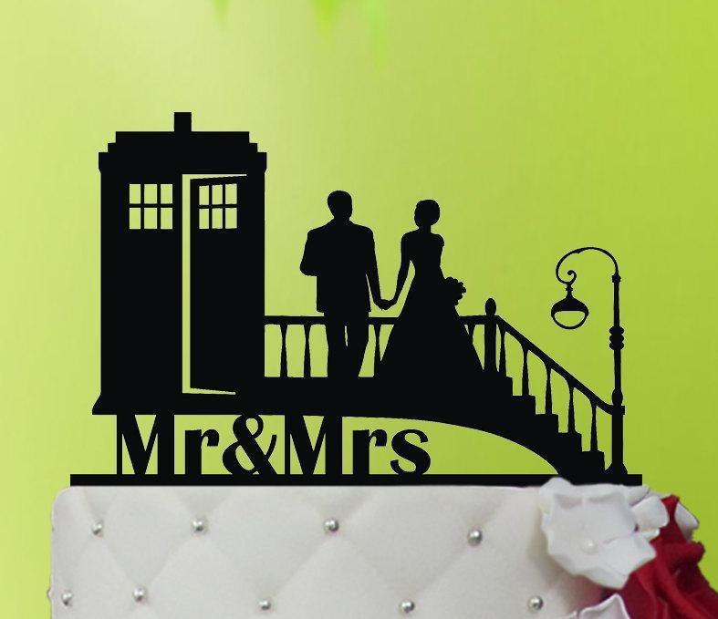 Wedding Cake Topper Tardis Doctor Who