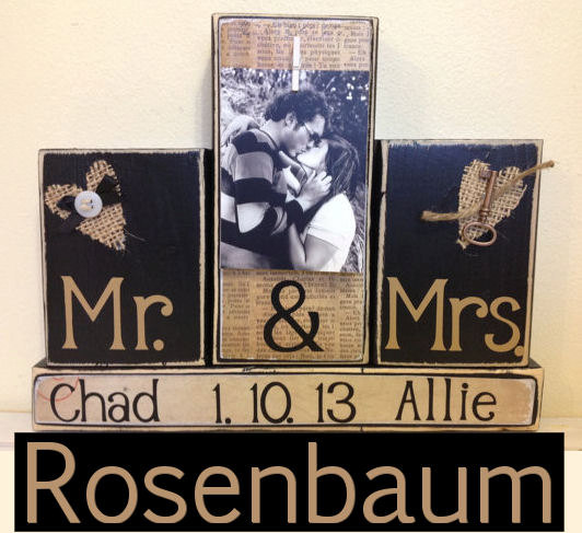 Personalized Wedding Gift Ideas Last Name Elish Wood Sign Custom Shower Mr And Mrs