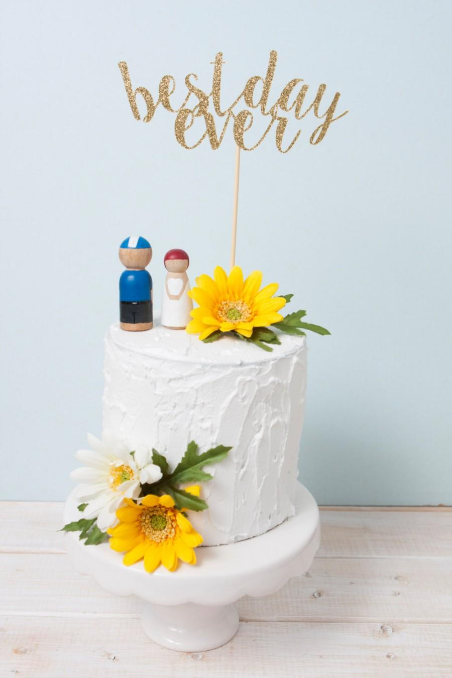 best wedding cake toppers ever best day cake topper wedding cake topper gold 11703