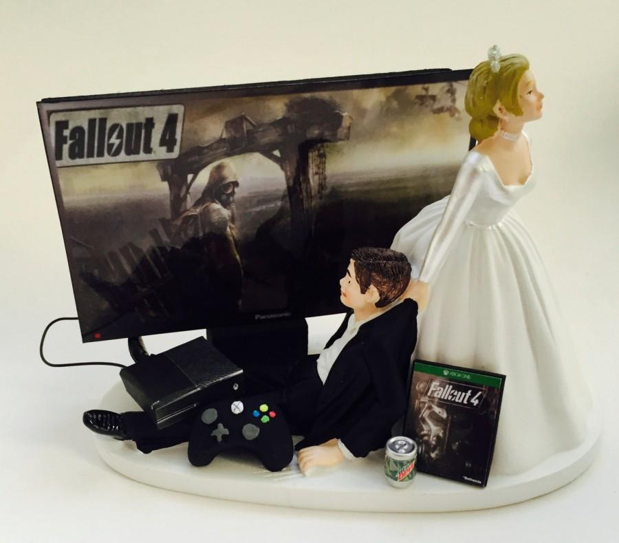 xbox one wedding cake topper gamer addict wedding cake topper gamer and 27674