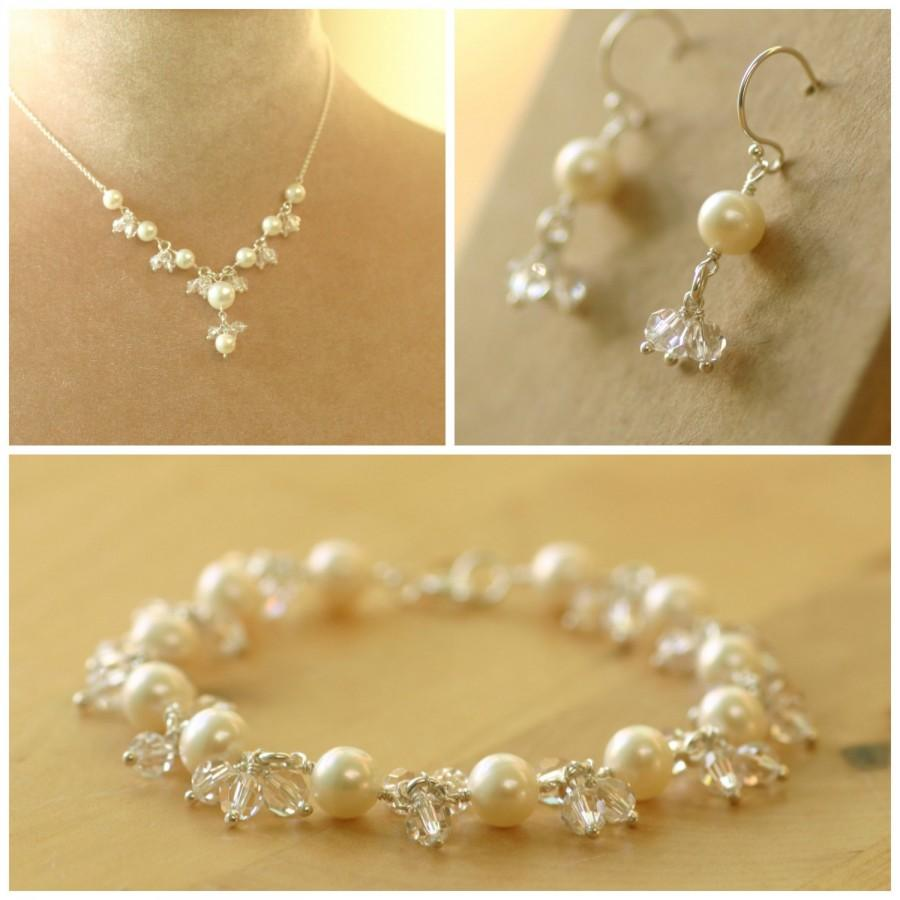 Bridal Jewelry Set Wedding Pearl Jewellery Florence