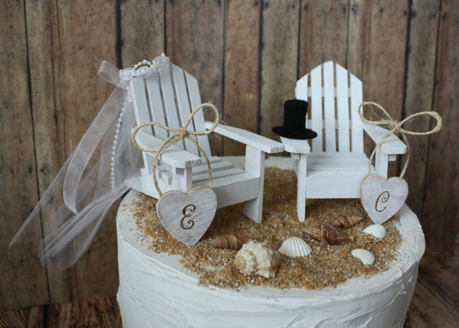destination wedding cake toppers beach theme adirondack wedding chairs adirondack chairs wedding 13502