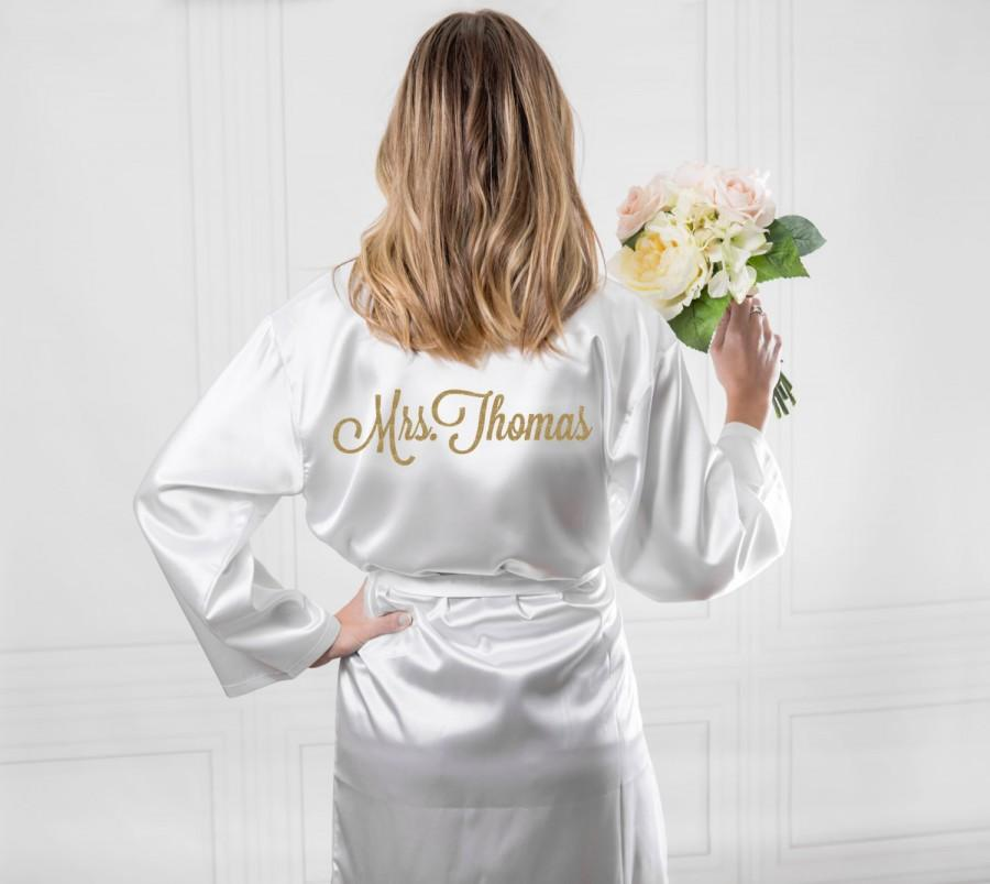 Wedding Robe For Bride And Bridesmaids Bridal Party Robes To Be Personalized Monogram Options Item Rob100