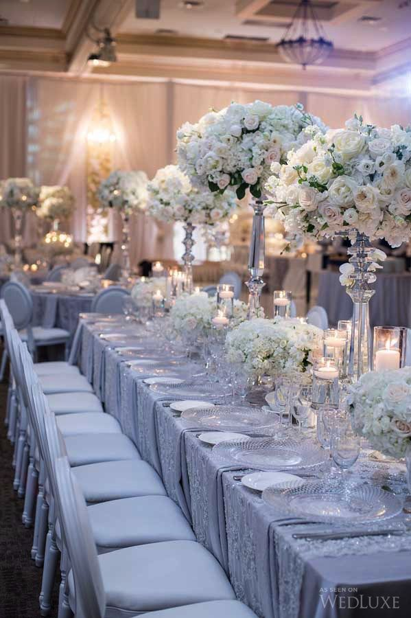 A Sophisticated Wedding With Lush Fl Walls