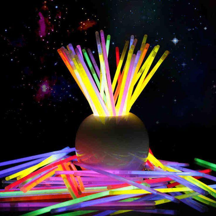 100pcs Tritium Glow Stick Party Lights