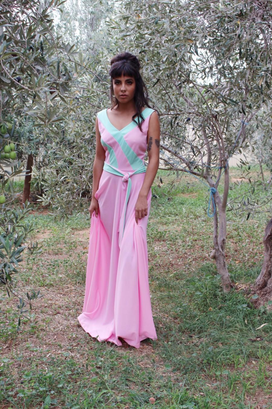 Long Beach Dresses For Weddings Summer Pink Formal Bohemian Maxi