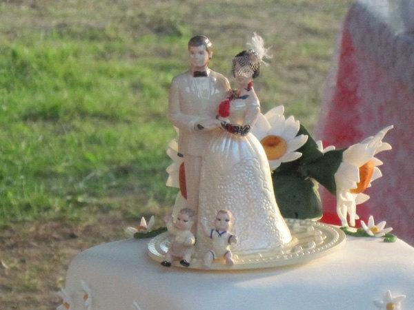 wedding cake toppers with child custom tattooed family wedding cake topper with or 26628