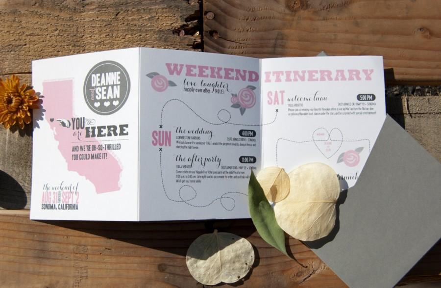 Wedding Weekend Itinerary Timeline Time Line Agenda Schedule