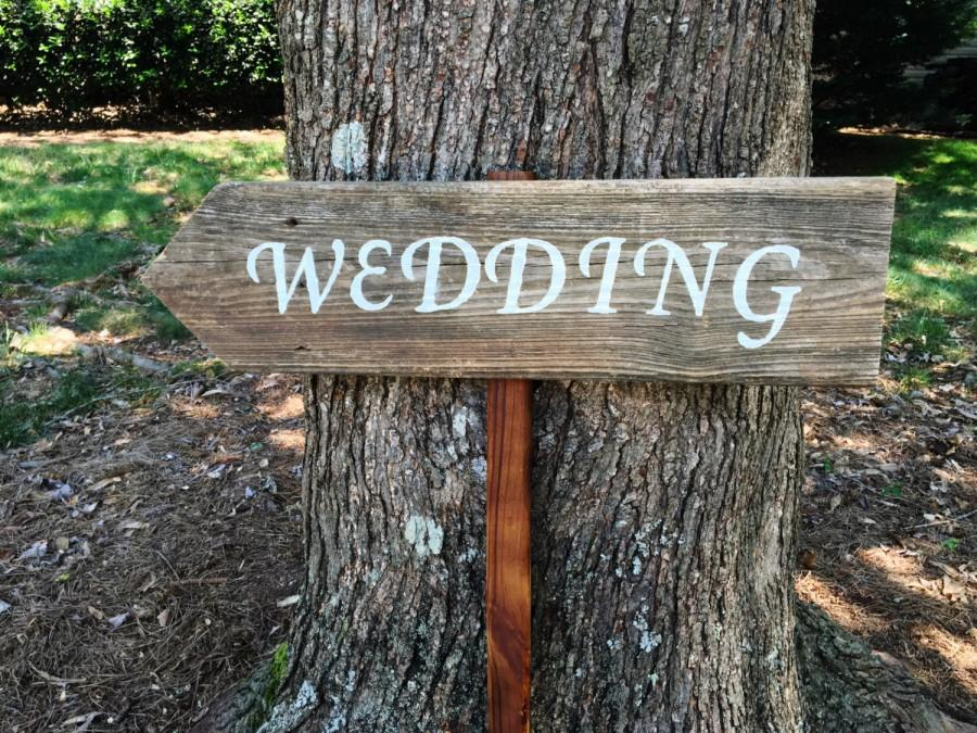 Beautiful Wedding Signs Wood, Wedding Arrow Sign, Wooden Wedding Signs, Barn  FF62