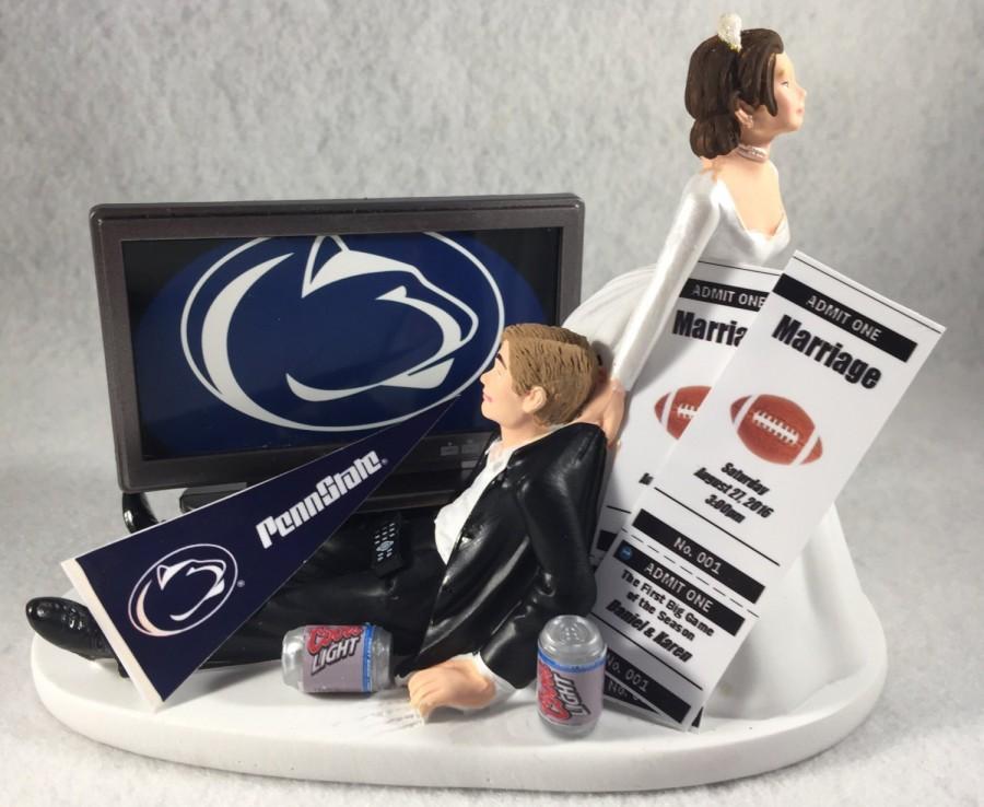 Penn State Wedding Cake Topper