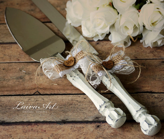 personalised wedding cake cutting knife rustic wedding cake server set amp knife cake cutting set 18230