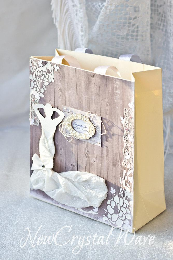 Wedding Favor Bags Decorated Paper Gift Quilled Ng Bag For Gles