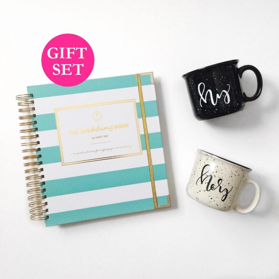 Wedding Planner Book Engagement Gift Set Keepsake Organizer Planning Guide Calendar Checklist Bridal Shower Maid Of Honor Bride
