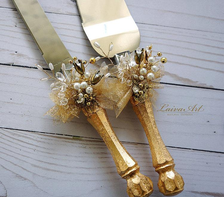 decorate wedding cake knife gold wedding cake server set amp knife cake cutting set 13385
