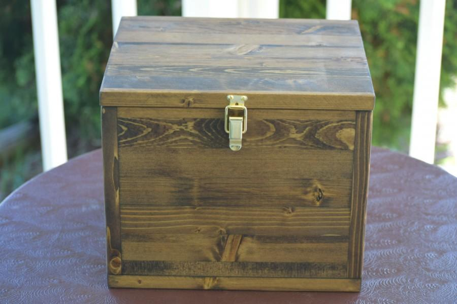 Large Keepsake Box Time Capsule Baby Memory Anniversary Decorative Wooden Legacy