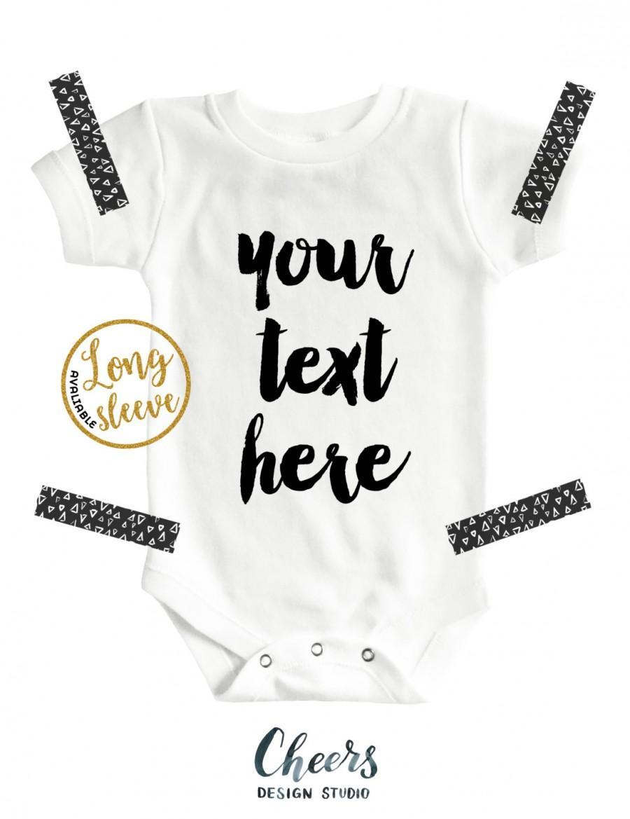 Custom Baby Onesie® - Personalized Onesie - Baby Onesie ...