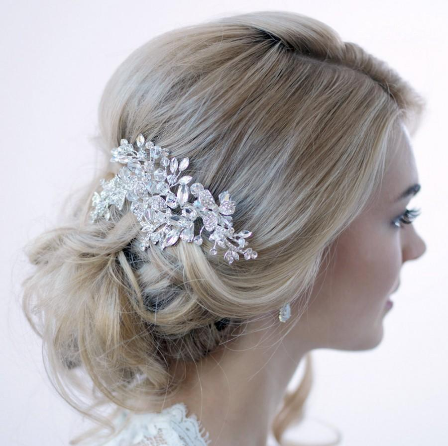 bridal hair comb silver | fade haircut