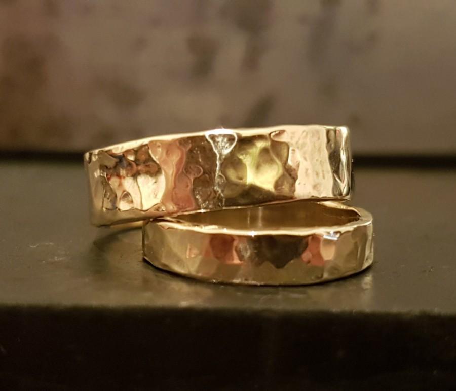 9k Gold Wedding Band Rings Ring Set Handmade Clic Timeless Bridal Jewelry Venexia