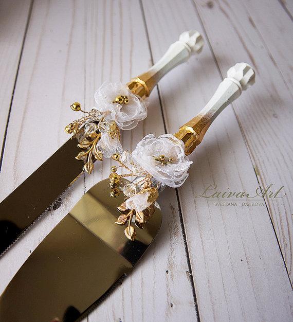 Wedding Cake Server Set Knife Cutting Servers Cutter Decoration