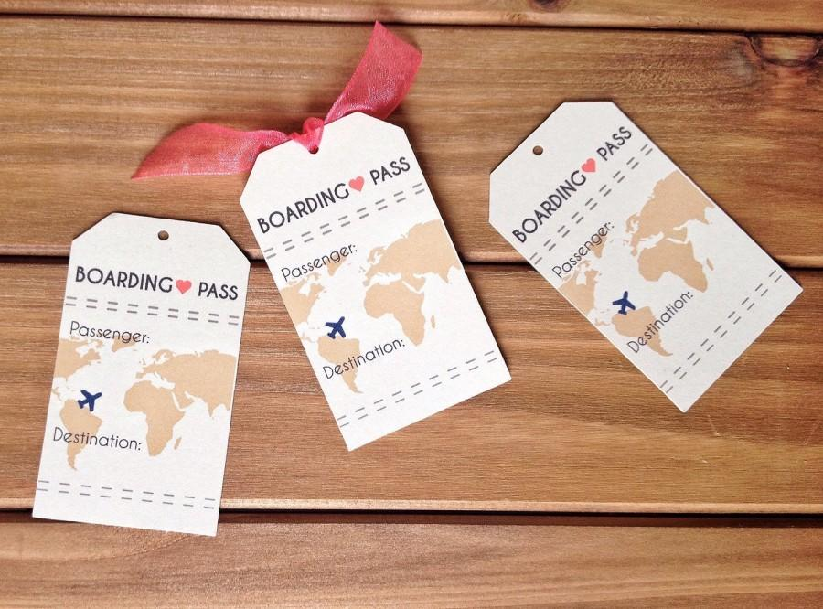 Very best INSTANT DOWNLOAD Boarding Pass Travel Wedding Theme Place Card  NG15