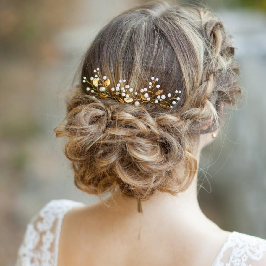 leaf bridal hair pins gold leaf wedding hair pins bridal wedding