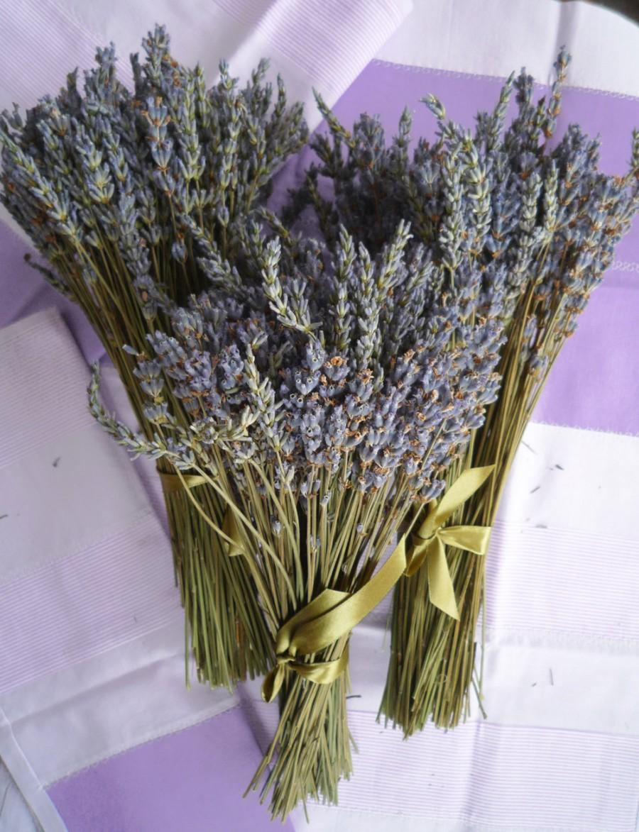 Dried Lavender 250 Stems Bunch Dry English Wedding Flowers Bouquet