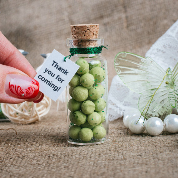 Favors For Wedding Green Mint Personalized Small Ideas