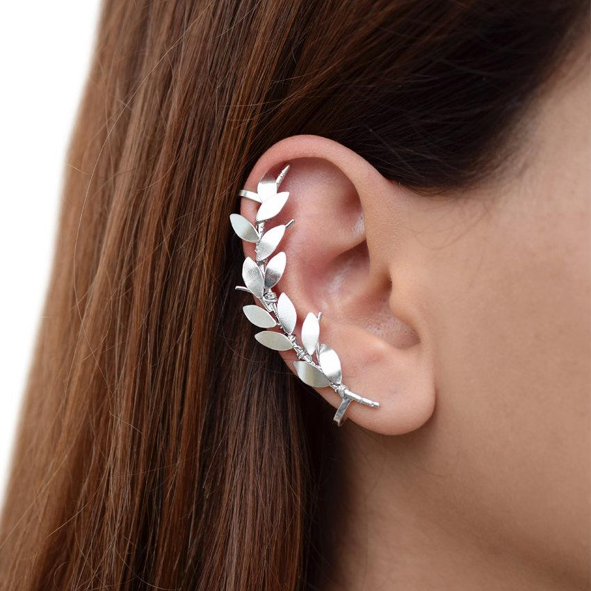 Sterling Silver Ear Cuff Earring